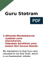 Guru Stotram