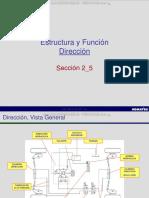 Curso Estructura Funcion Sistema Direccion Retroexcavadora Wb146 Komatsu