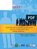 Gestión de La Responsabilidad Social Universitaria. Dimensiones y estudios de caso,