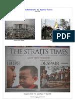 China Earth Quake   Vs   Myanmar Cyclone[1][1]