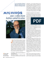 Archivos une collection latino-américaine