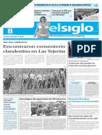 Edición Impresa Elsiglo 08-03-2016