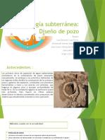 Hidrologia subterranea