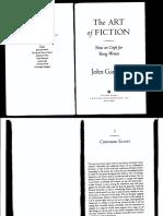 John Gardner, The Art of Fiction