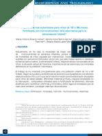 Papilla de Arroz Instantanea Para Niños de 12 a 36 Meses Fotificada Con Micronutrientes