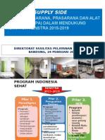 Kebijakan Fasilitas Pelayanan Kesehatan Bandung 24 Pebruari 2016