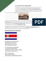 Historia de Los Himnos de Centroamerica