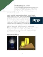 Folio - Cahaya Bergerak Lurus