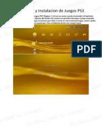 1.Descarga y Instalacion de Juegos PS3