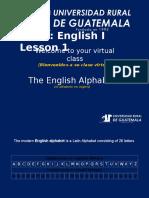 Ingles 1 Clase 1el Alfabeto