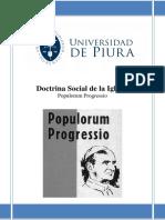 Encíclica populorum progressio