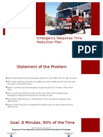 Emergency Response Time Reduction Presentation