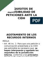 408965812.Requisitos de Admisibilidad de Peticiones Ante La Cidh