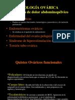 Patologa ovarica