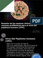 Revision Clinica de Vacunas Profilácticas para el VPH