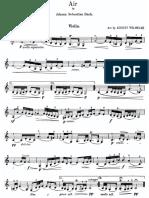 Bach Wilhelmj Air for the g String