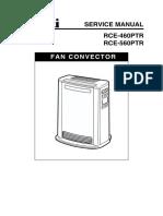 Rinnai 560PTR Heater User Manual