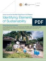 Identifying Elements of Sustainability