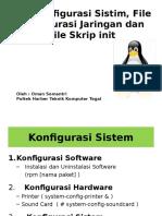 File Konfigurasi Sistim Jaringan