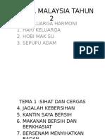 Bahasa Malaysia Tahun 2 Bm