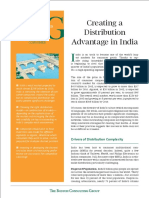 Creating a Distribution Advantage