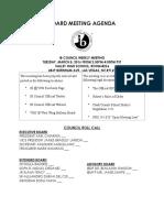 board meeting agenda 3 8 16