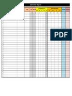 Log Sheet Form