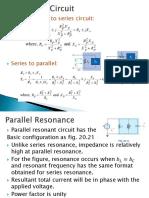 Parallel Resonance