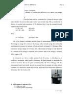 Lab Report Materials Thermodynamics