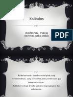 SK 2 - Kalkulus & Impaksi Makanan