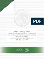 Plan Quinquenal Del Sistema de Transporte y Almacenamiento Nacional Integrado de Gas Natural 2015-2019 (1)