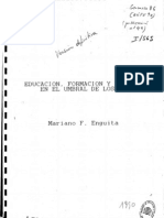 Educación, Formación y Empleo en el umbral de los 90 (orig, CIDE, 1990)