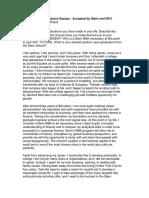 Sample MBA Essay - Why NYU