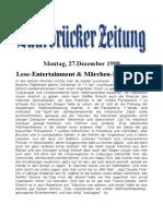 Lese-Entertainment & Märchen-Perspektive