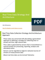 Real Time Data Strategy and Architecture