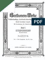 Beethoven No.1