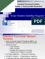 Proje Yönetimi Sertifika Programı