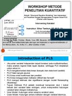 9. Modul SEM Dengan PLS - Intervening