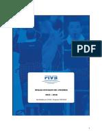 Reglamento Voleibol 2013-2016