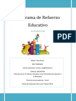 Programa de Refuerzo Educativo