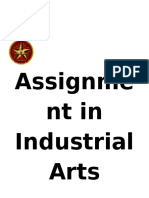 Assignment in Industrial Arts.docx