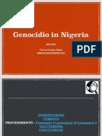 Genocidio in Nigeria