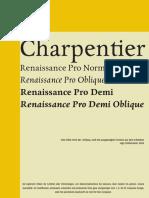 Charpentier Renaissance