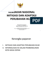 Kebijakkan Aksi Nasional Mitigasi