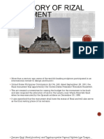 The Story of Rizal Monument JR BALIGOD