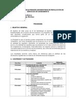 Programa Microeconomía Básica Curso Extensión Universitaria SUNASS