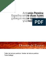 poemario Antonio Pereira