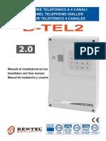 Commnunicator Bentel B-Tel2 User