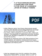 Mobile Towers regulation