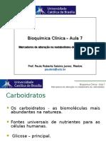Aula 7 Metabolismo Carboidratos